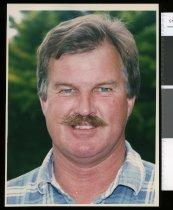 Image of Brian Gardner, deputy fire chief Lake Tekapo - Timaru Herald Photographs, Personalities Collection