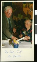 Image of Tom Sutherland and Yshbel Glass - Timaru Herald Photographs, Personalities Collection