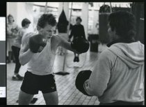 Image of Boxer Greg Godkin - Timaru Herald Photographs, Personalities Collection