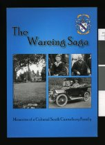 Image of Wareing saga : memories of a colonial South Canterbury family   - Lipyeat, Moira
