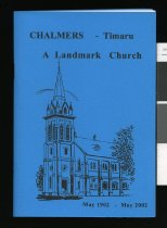 Image of Chalmers : a landmark church -