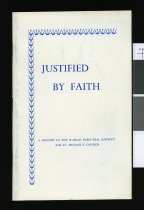 Image of Justified by faith