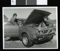 Image of Malcolm Gavin and Bob Robb - Timaru Herald Photographs, Personalities Collection