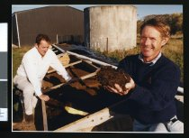 Image of Peter O'Neill and Don George - Timaru Herald Photographs, Personalities Collection