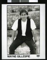 Wayne Gillespie, singer/songwriter.