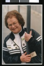 Image of Jean Gillett, netball - Timaru Herald Photographs, Personalities Collection