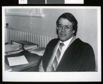 Image of Waitaki Boys' High School Rector Rory Gollop - Timaru Herald Photographs, Personalities Collection