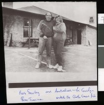 Image of Barry and Carolyn Gourlay - Timaru Herald Photographs, Personalities Collection