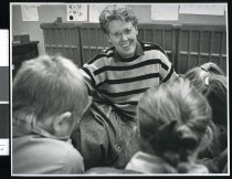 Image of Marchwiel School teacher Anne Gray - Timaru Herald Photographs, Personalities Collection