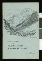 Image of Place names in Mount Cook National Park - Riley, Charles Graham