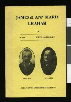 Image of James & Ann Maria Graham of Cave, South Canterbury : early South Canterbury settlers - Thompson, Myrtle