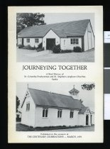 Image of Journeying together : a brief history of St. Columba Presbyterian and St. Stephens Anglican Churches, Fairlie - Munro, Marjorie (ed.)