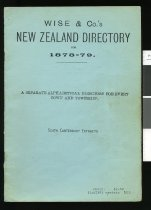 Image of Wise & Co.'s New Zealand directory for 1878-79 : a separate alphabetical directory for every town and township : South Canterbury extracts. -