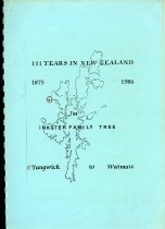 Image of The Inkster family tree : Tangwick to Waimate. -
