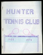 Image of Hunter Tennis Club, 1935-1975 - Trist, Graeme J