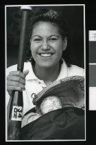 Image of Aria Haeata, softball player - Timaru Herald Photographs, Personalities Collection