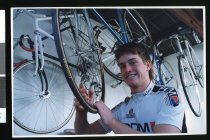 Image of Kyle Hallett, cyclist - Timaru Herald Photographs, Personalities Collection
