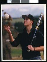 Image of Tim Hamer, softball player - Timaru Herald Photographs, Personalities Collection