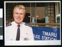 Image of Police inspector Garth Hames - Timaru Herald Photographs, Personalities Collection