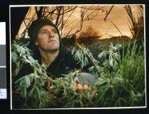 Image of Darren Hanson, duck shooter - Timaru Herald Photographs, Personalities Collection