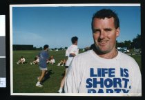 Image of Darren Hanson, South Canterbury United soccer coach - Timaru Herald Photographs, Personalities Collection