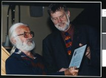 Image of Gordon Hasell and John Tristam - Timaru Herald Photographs, Personalities Collection