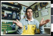 Image of Colin Hawke, world cup rugby referee - Timaru Herald Photographs, Personalities Collection