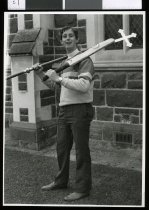 Image of Reverand Mike Hawke - Timaru Herald Photographs, Personalities Collection