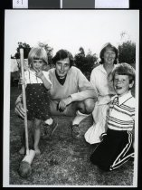 Image of Reverand Mike Hawke and family  - Timaru Herald Photographs, Personalities Collection
