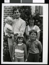 Image of Reverand Mike Hawke and family