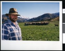 Image of Farmer Murray Hawke - Timaru Herald Photographs, Personalities Collection