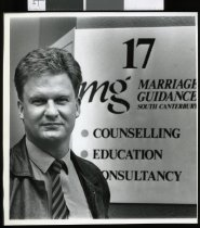 Image of Nigel Heard, Marriage Guidance - Timaru Herald Photographs, Personalities Collection
