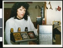 Image of Albury Tavern manager Linda Hayes - Timaru Herald Photographs, Personalities Collection