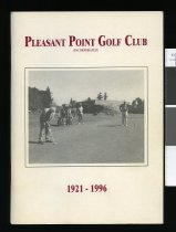 Image of Pleasant Point Golf Club (Incorporated) 1921 - 1996 - Bowden, Rex