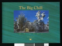 Image of The big chill of 1991 : the story in words and photos of the worst winter for 60 years - Maxwell, James