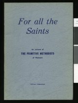 Image of For all the saints : an account of the Primitive Methodists of Waimate      - Greenwood, William