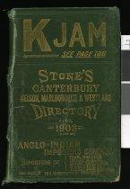 Image of Stone's Canterbury, Nelson, Marlborough and Westland directory -