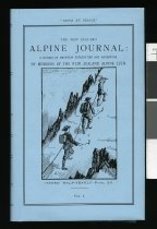 Image of The New Zealand Alpine Journal : a record of mountain exploration and adventure. -