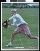 Image of Kate Henderson, softballer - Timaru Herald Photographs, Personalities Collection