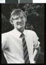 Image of Matt Henderson, rector of Waimate High School - Timaru Herald Photographs, Personalities Collection