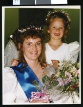 Image of Jackie Hepburn, Temuka bride of the year - Timaru Herald Photographs, Personalities Collection