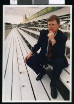 Image of Paul Hewitson, chairman South Canterbury Rugby Union - Timaru Herald Photographs, Personalities Collection