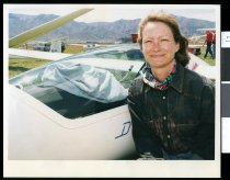 Image of Janet Hider-Smith, glider pilot at Omarama - Timaru Herald Photographs, Personalities Collection