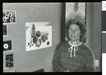 Image of Temuka Artist Heather Hill - Timaru Herald Photographs, Personalities Collection