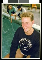 Image of Robert Hill, swimmer - Timaru Herald Photographs, Personalities Collection