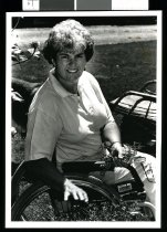 Image of Trish Hill, paralympian - Timaru Herald Photographs, Personalities Collection
