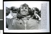 Image of Sir Edmund Hillary  - Timaru Herald Photographs, Personalities Collection