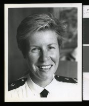Image of Officer Toni Hocking - Timaru Herald Photographs, Personalities Collection