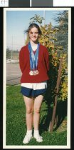 Image of Kurow athlete Lynda Hodgson - Timaru Herald Photographs, Personalities Collection