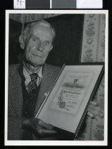 Image of Ralph Aubrey Holdgate, philatelist - Timaru Herald Photographs, Personalities Collection